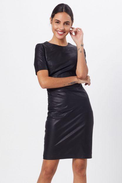 Y.A.S Rochie 'YASCANE SS NAPLON DRESS'  negru