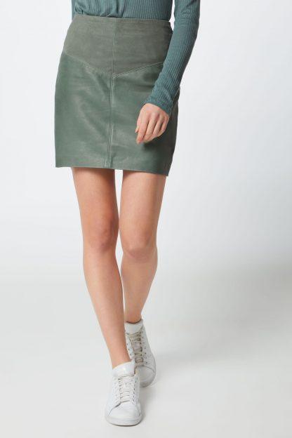 Pepe Jeans Fustă 'Elodia'  verde