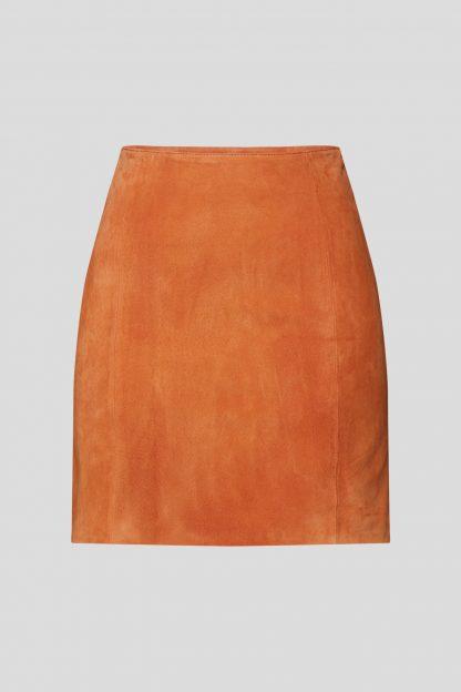 EDITED Fustă 'Celia'  portocaliu