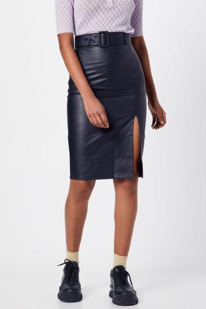 Fashion Union Fustă 'CARTER'  negru
