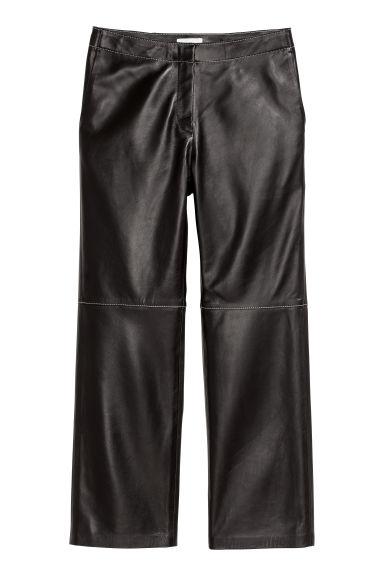 Pantaloni piele H&M - Pantaloni de piele