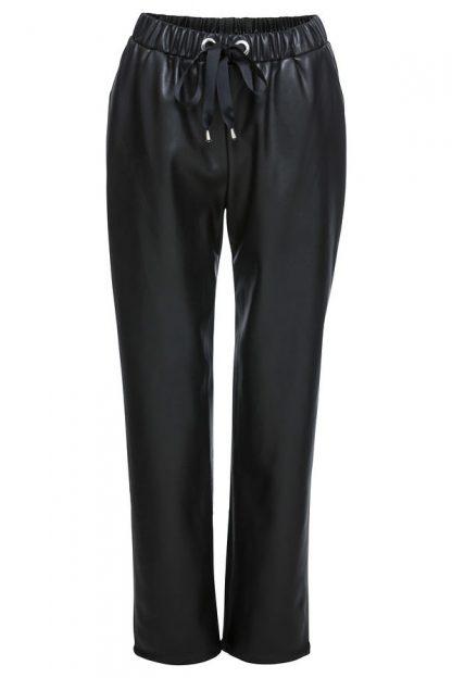 Pantaloni din imitaţie de piele